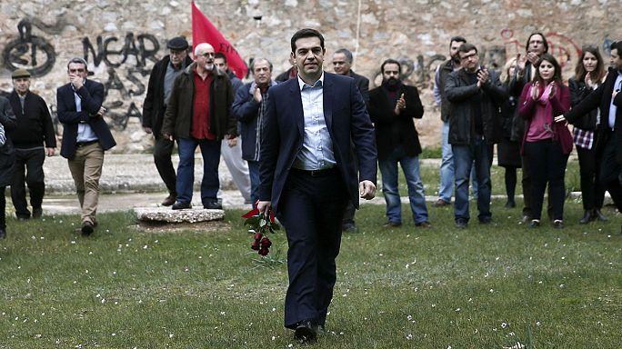 A kivégzett görög ellenállókra emlékezett Ciprasz