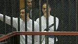 Elengedték az őrizetből Hoszni Mubarak fiait