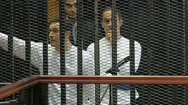 Los hijos del expresidente egipcio, Hosni Mubarak, se encuentran ya en libertad