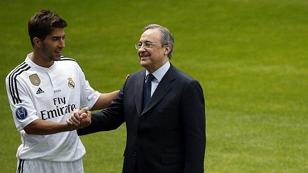 Real stellt Neuzugang Lucas Silva aus Brasilien vor