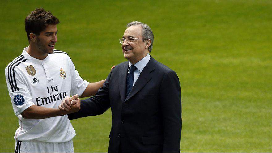 لاعب الوسط سيلفا ينضم الى ريال مدريد