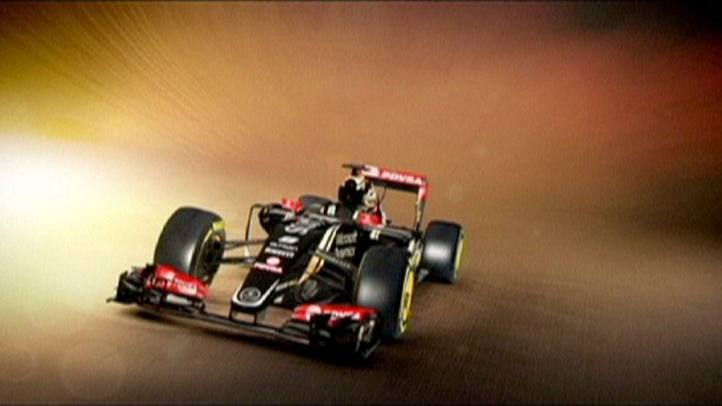 Fórmula 1: Lotus apresenta novo bólide para atacar 2015