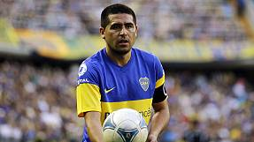 Argentine playmaker Riquelme blows full-time whistle on career