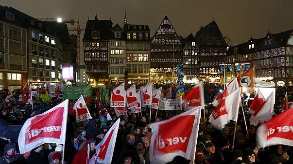 Los anti-Pegida toman el bastión de Pegida con un concierto de rock en Dresde