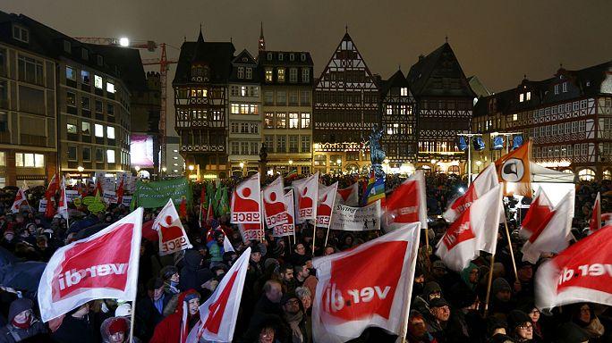 A Pegida ellen tüntettek Németországban