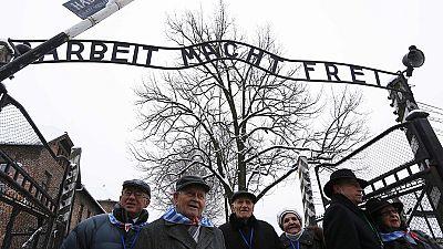 Holocaust Memorial Day: Auschwitz survivors reunited 70 years on