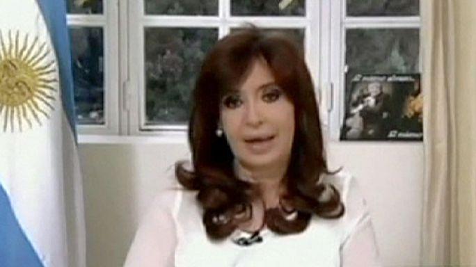 Argentine : la présidente dissout les services de renseignements