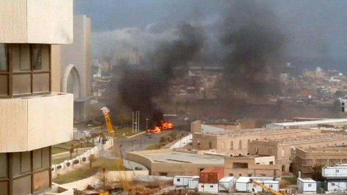 Libya'da Türklerin de kaldığı otele saldırı