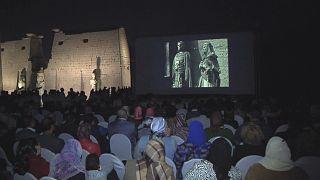 Cinema egípcio e europeu em destaque no templo de Carnaque