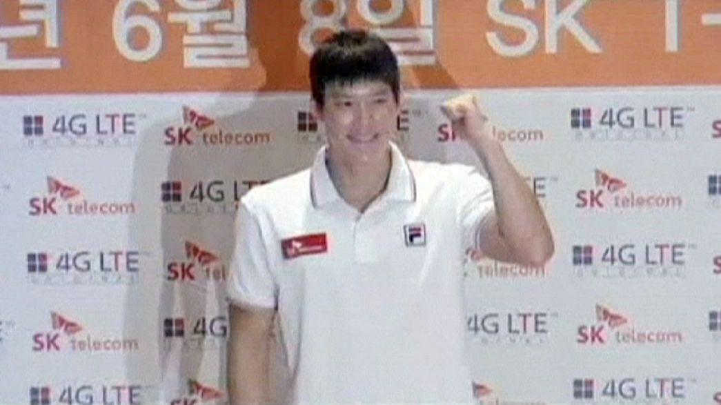 Controlo antidoping positivo choca estrela da natação sul-coreana