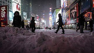 EUA: Intensidade do mau tempo foi menor que a prevista