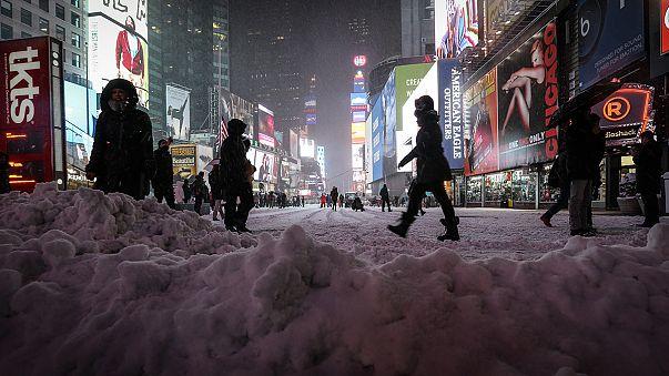 Tempête de neige à New York : plus de peur que de mal