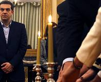 Tsipras' anti-austerity government sworn in