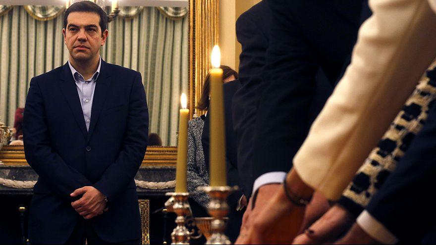 Церемония присяги членов нового кабинета министров Греции
