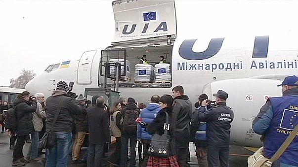 Europa conforta refugiados ucranianos