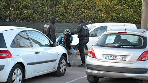 Fransa anti terör operasyonu: 5 gözaltı