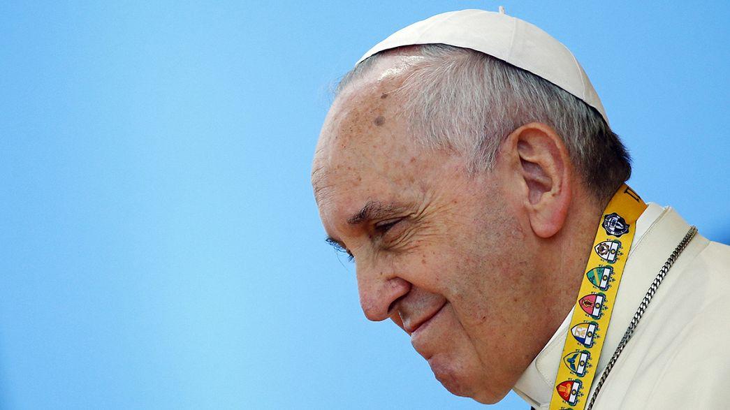 Papst trifft Transsexuellen