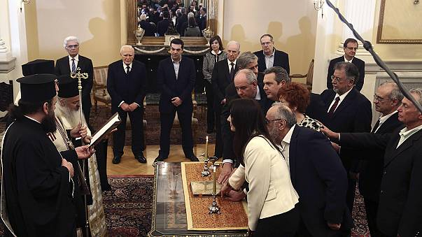 A very academic cabinet, Tsipras government sworn-in
