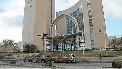 مقتل 9 أشخاص بينهم 5 اجانب في هجوم مسلح على فندق بالعاصمة الليبية