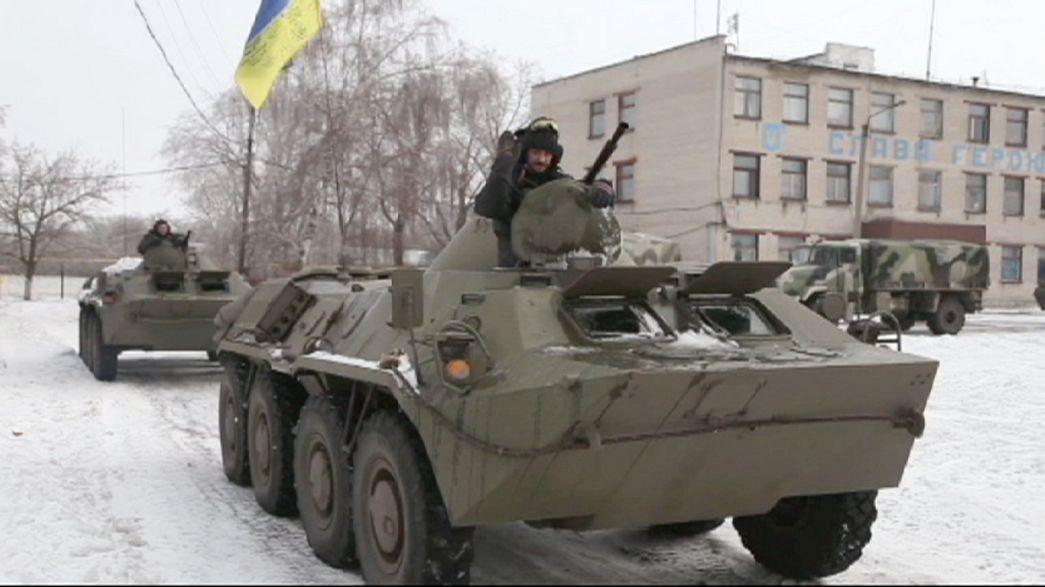 Separatistas pró-russos preparam cerco a exército ucraniano