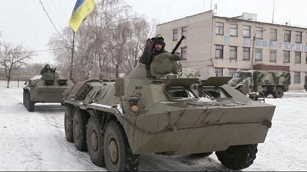 Ucraina: contesa sul campo la zona intorno a Debaltseve