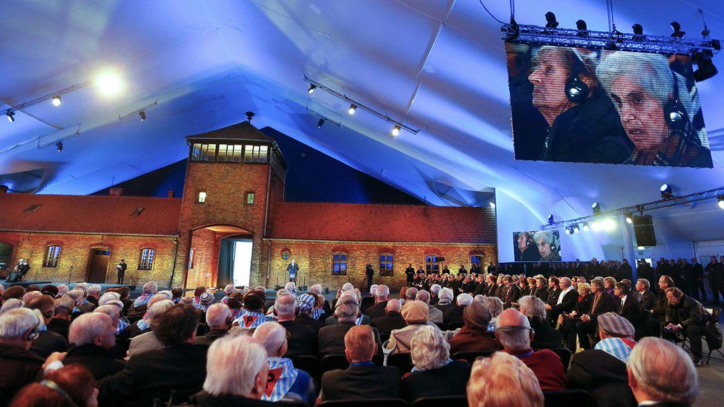 إحياء الذكرى السبعين لتحرير معسكر أوشفيتز النازي