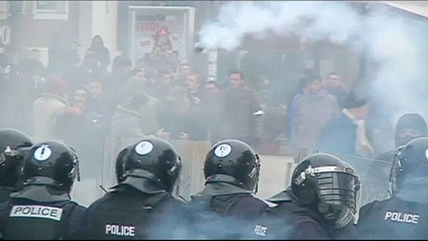 Kosovo: protestas antigubernamentales