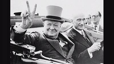 50th anniversary of Churchill's death