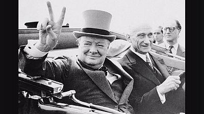 Los británicos conmemoran el 50 aniversario de la muerte de Winston Churchill
