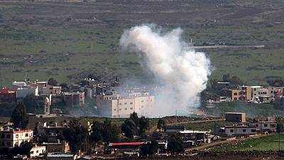 Israel and Hezbollah exchange fire near Lebanon border