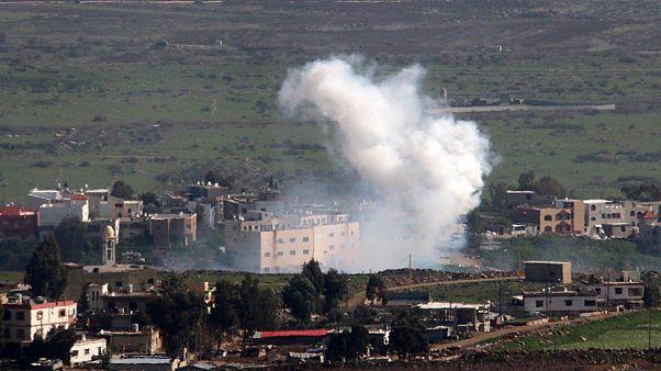 قصف اسرائيلي على مواقع سورية وحزب الله يشن هجوما