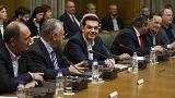 Drei Tage nach der Wahl: Erste Kabinettssitzung in Griechenland