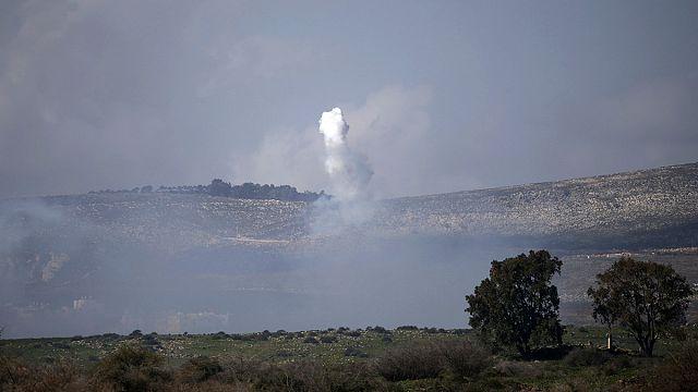 """Képtalálat a következőre: """"izrael golán fennsík megtorló légicsapás"""""""