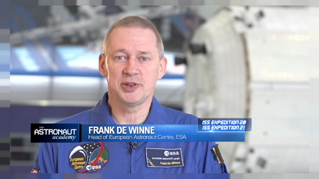 ESA EAC chief Frank De Winne on what it takes to be an astronaut