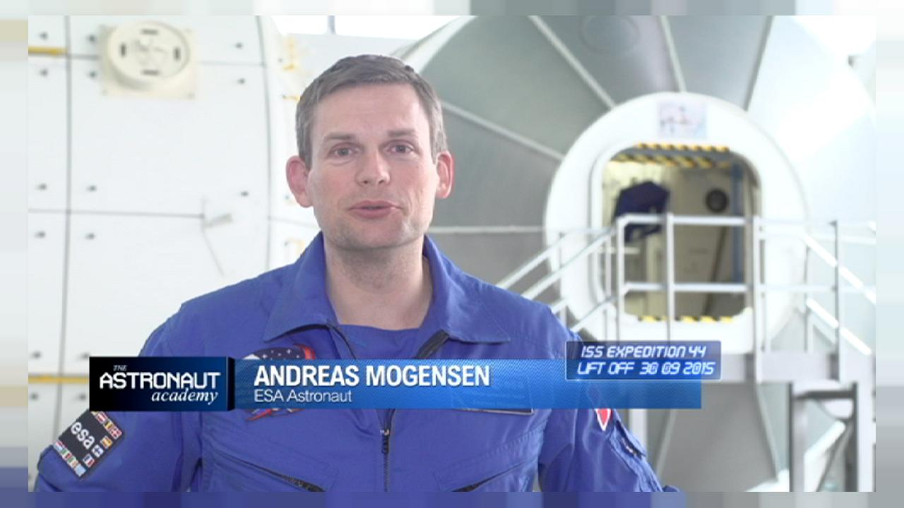 ESA astronaut Andreas Mogensen on dreams, infinity and training for space