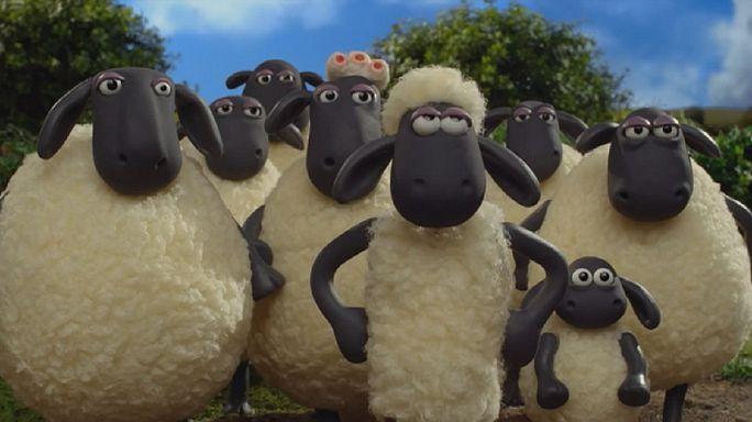 """Aardman'ın yeni filmi """"Shaun The Sheep"""" sanat dünyasını bir araya getirdi"""