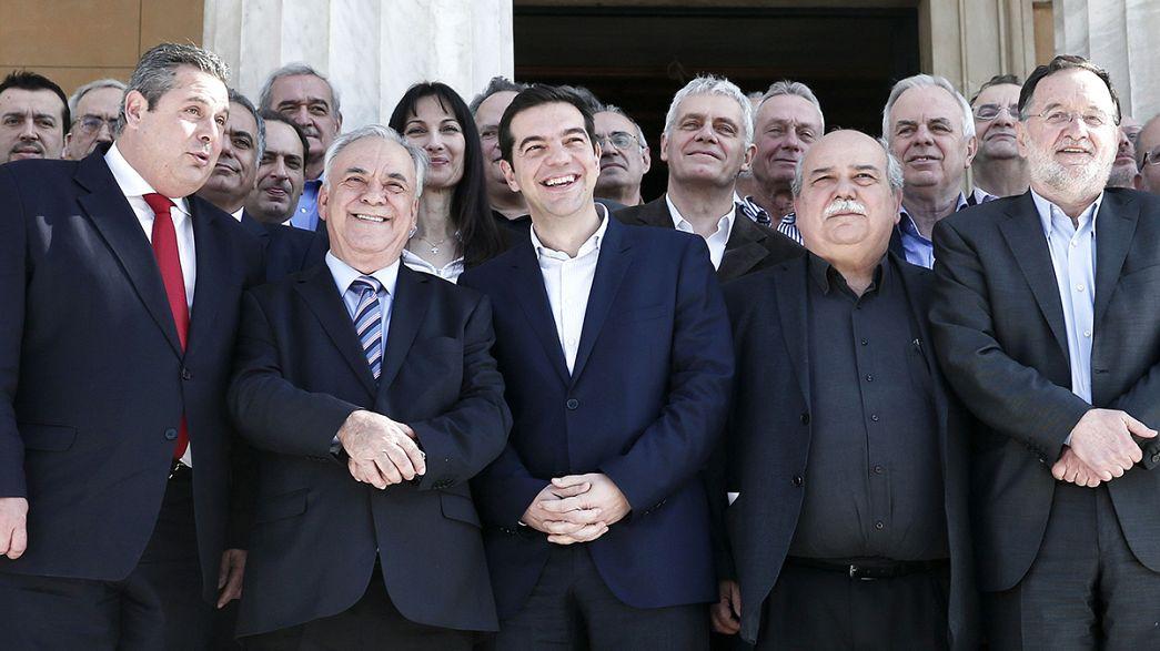 Grecia: il governo dei debuttanti pronto allo scontro sul debito
