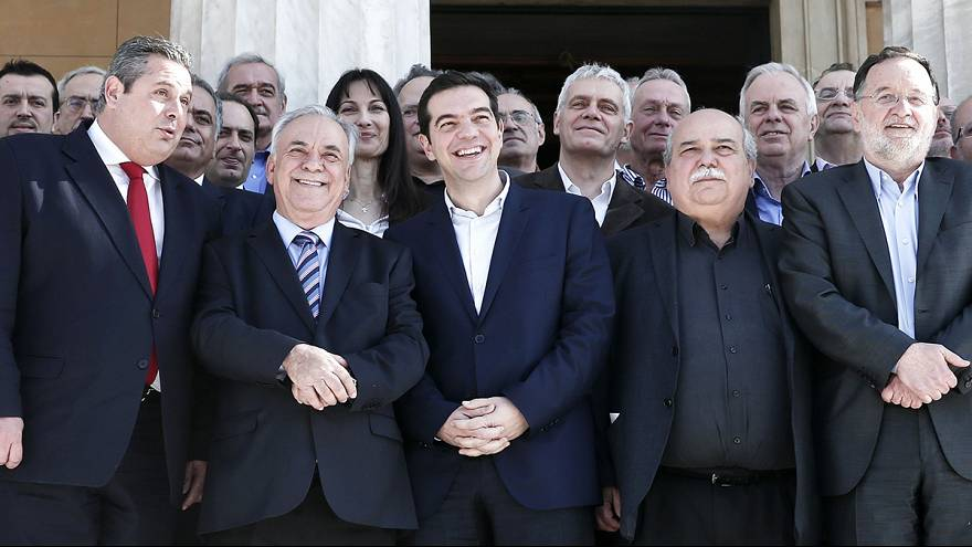 Greek novice government defies odds on debt