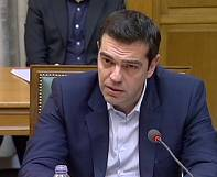 """We will not continue a policy of catastrophe,"" says new Greek PM"