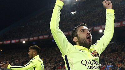 """Barcelona elimina Atlético de Madrid e enfrenta Villarreal nas """"meias"""" da Taça do Rei"""