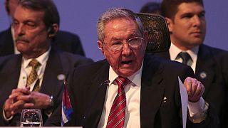 Rául Castro exige a EEUU cesar el embargo para reanudar las relaciones bilaterales