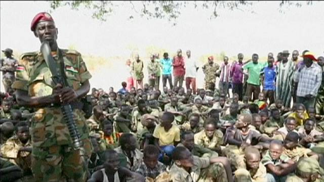 First of more than 2,000 child soldiers freed in South Sudan
