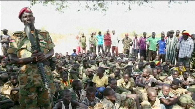 Южный Судан: дети-солдаты сложат оружие