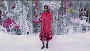 Chanel says it with flowers at Paris Fashion Week