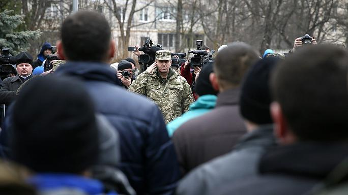 Ukraine troops called up ahead of fresh talks announced for Friday