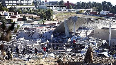 Two dead after gas blast at Mexican maternity hospital