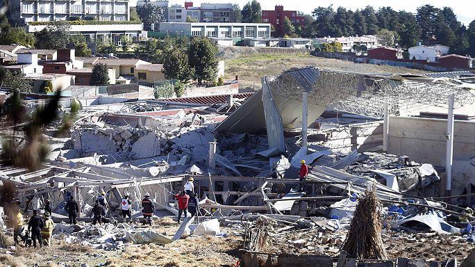 انفجار للغاز في دار للتوليد في مكسيكو يوقع قتيلين وستين جريحاً