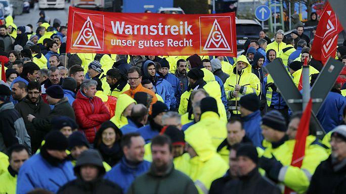 Германию охватили забастовки