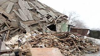 Bombardıman altındaki Popasna'da yaşam