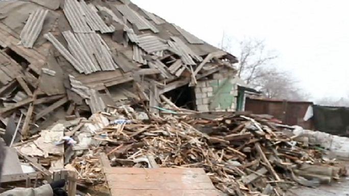 """Est de l'Ukraine : """"nous sommes fatigués de trembler"""""""